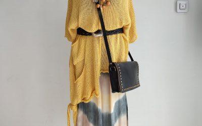 Looks con vestido Tie-dye